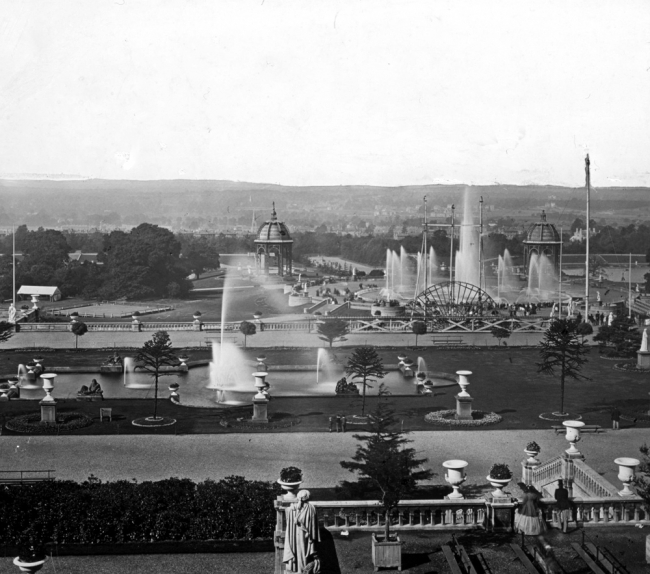 The Fountains at the Crystal Palace - London